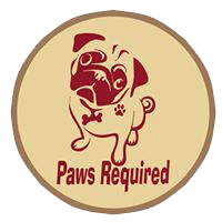 Paws Required Logo